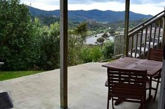 Coromandel Seaview Motel Style B&B : Studio 3 Patio