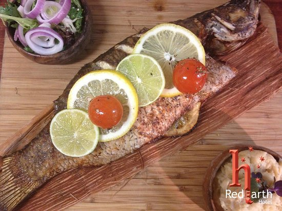 RedEarth Restaurant: Whole Baby Barramundi