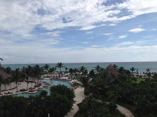 Secrets Maroma Beach Riviera Cancun: View from top floor of bldg 21