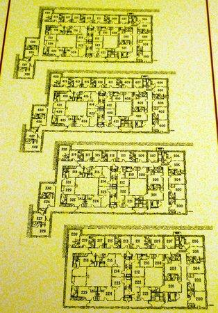 Hotel Fusion: floor MAP