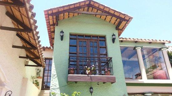 Hotel Boutique Mi Pueblo Samary: Dining room windows