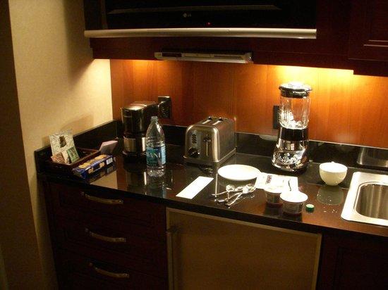 Signature at MGM Grand: Cozinha equipada e limpa.