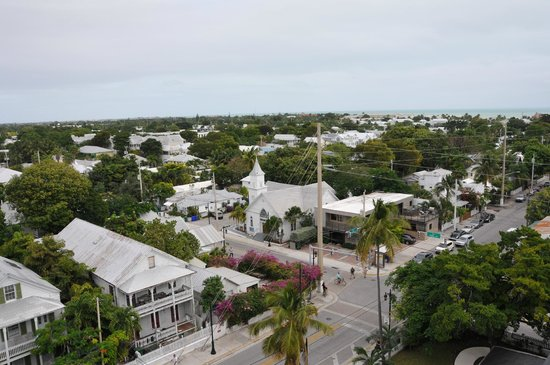 Key West Lighthouse and Keeper's Quarters Museum: view from the top