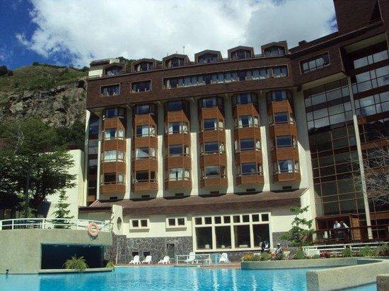 Gran Hotel Termas de Chillán: desde la piscina