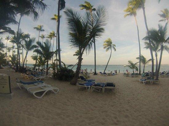 Hotel Riu Naiboa : Playa del Hotel