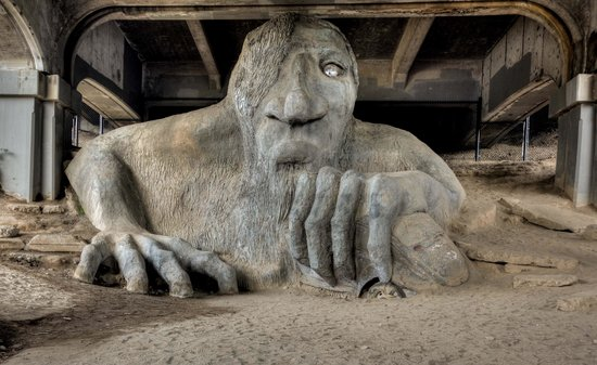 fremont troll seattle things to do