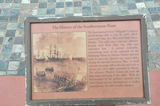 Southernmost Point: A little bit of history