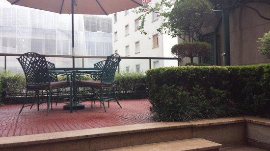 L'Hotel Porto Bay Sao Paulo: suite 16 - terraço fantástico. raridade em SP