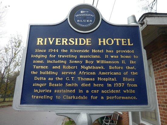 Riverside Hotel : a little bit of history...