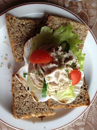 The Wharfside Grill: Snoek pâté