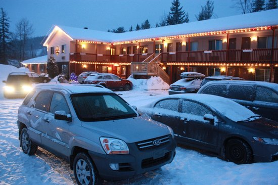 Motel Le Radisson De Val-david : Motel - winter