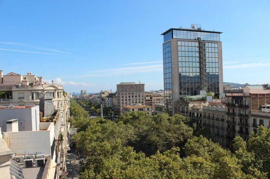 Casa Fuster Hotel : 屋上からの眺め