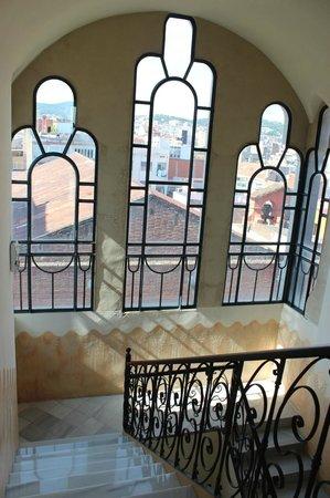 Casa Fuster Hotel : 階段の踊り場