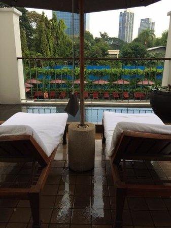 The Sukhothai Bangkok : room terrace