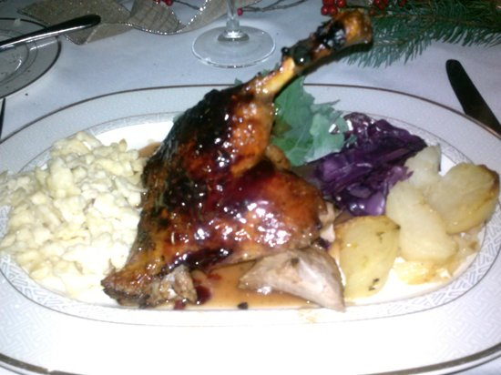 Vienna Restaurant & Historic Inn: duck