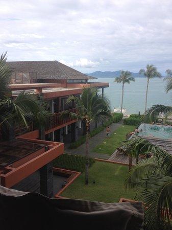 Hansar Samui Resort: 部屋からの眺め