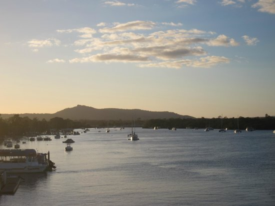 Noosa Boathouse & Sunset Bar: The view from the Sunset Bar