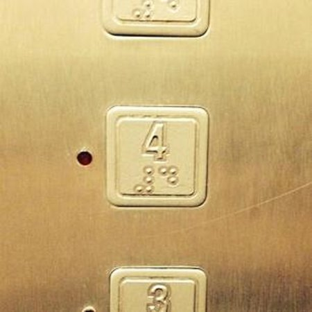 Hotel do Carmo: エレベーターボタン