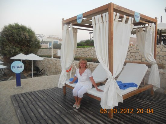 Aldemar Cretan Village: пляжная зона