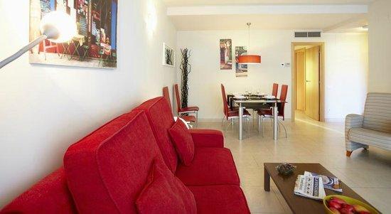 Ibersol Spa Aqquaria: интерьер апартаментов