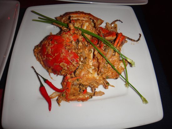 The Touich Restaurant Bar: Fried crabs!