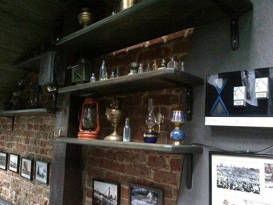 Gasova Lampa : Museum and Restaurant Oil Lamp