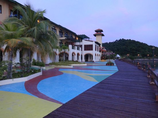 Resorts World Langkawi : The external View