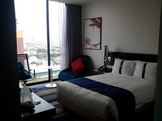Holiday Inn Express Bangkok Siam: 23th floor standard room, very good view