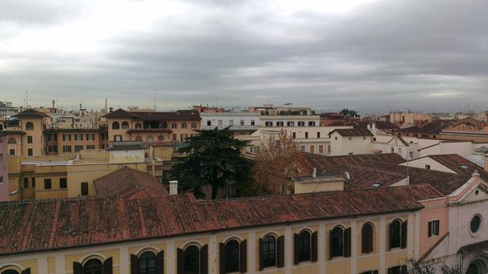 Mecenate Palace: View from the roof
