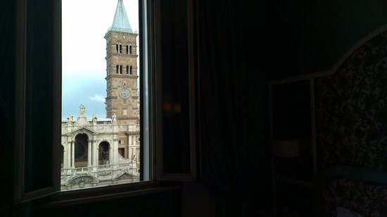 Mecenate Palace: View from our room