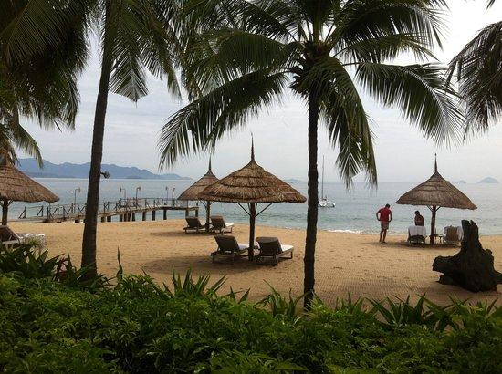 Evason Ana Mandara Nha Trang : View from our beachfront villa