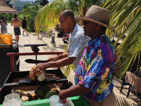 Secrets St. James Montego Bay: Coconut Anyone?