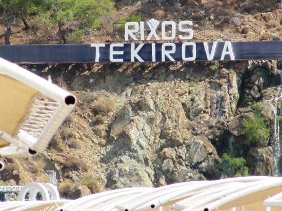 Rixos Premium Tekirova : вид с моря