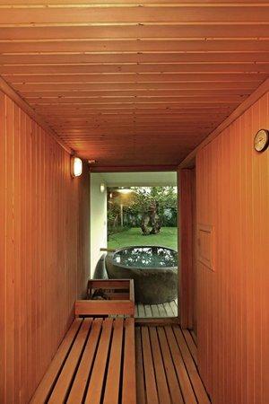 Villa Casa Mateo: Inside Sauna