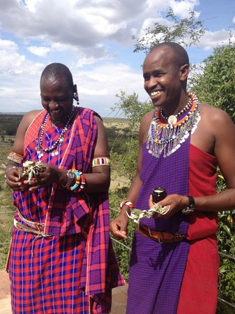 Eagle View, Mara Naboisho: Moses and Manfred, Maasai Guides
