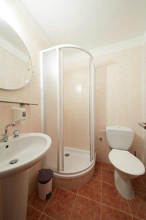 Pension Flora: Bathroom