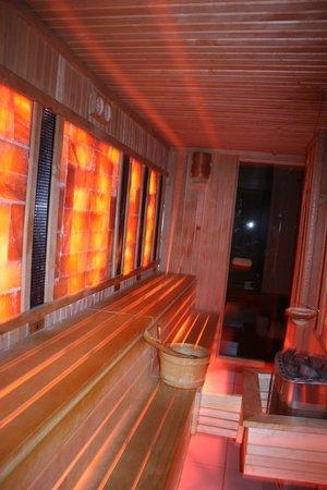 Mandala Day Spa : le sauna