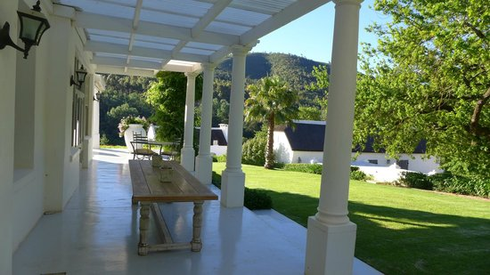 Grand Dedale Country House: Veranda