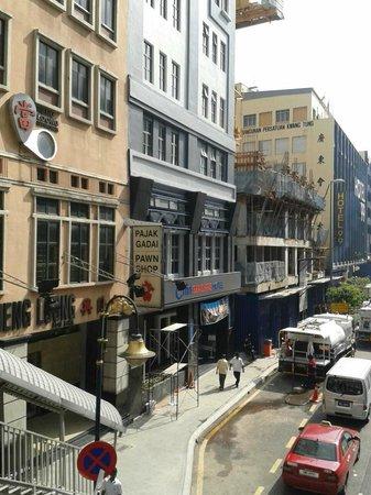 Citin Seacare Hotel Pudu Kuala Lumpur: view from a main street