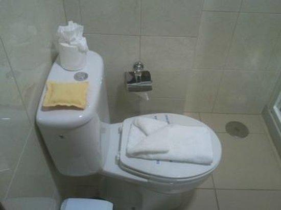 Hotel El Cabo: Bathroom