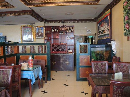 Yeti hotel Gyantse : Comedor