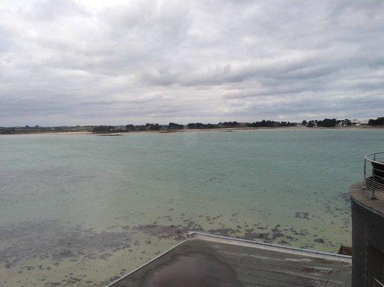Hotel Thalasstonic de Roscoff: vue sur mer
