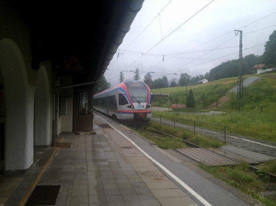 Gastehaus Sagfeiler: Станция Бишофсвизен.