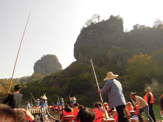 Bamboo Raft Drift : 景色