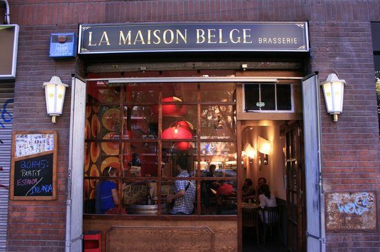 la maison belge brasserie barcelone restaurant avis num ro de t l phone photos tripadvisor. Black Bedroom Furniture Sets. Home Design Ideas