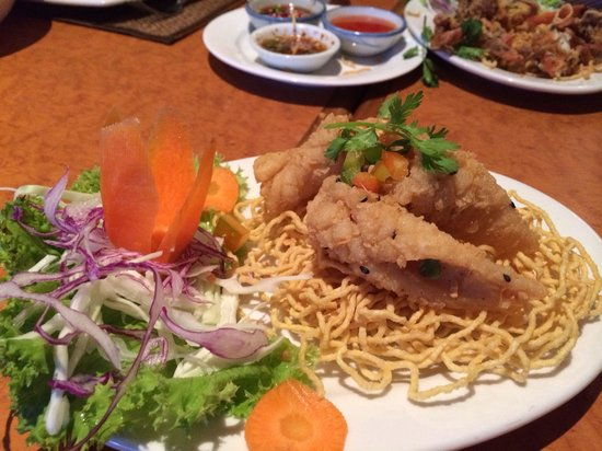 Thai Spy Restaurant: Yummy salt and pepper squid