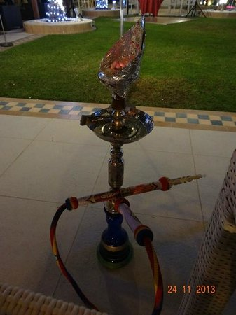 Al Raha Beach Hotel: Sheesha