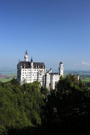 Schlosshotel Lisl: Вид на замок Нойшванштайн