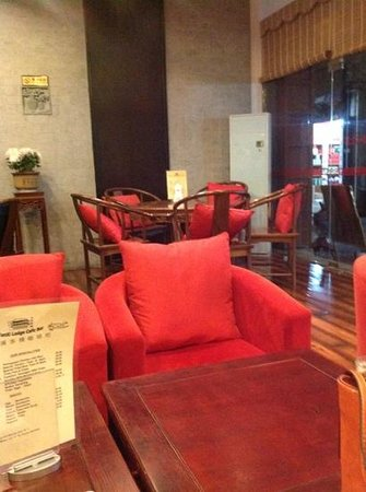 Tunxi Lodge: cafe