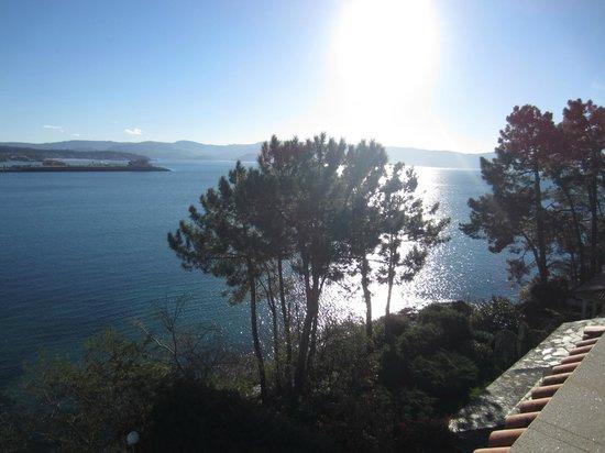 Gran Talaso Hotel Sanxenxo: vista de la ria desde la terraza de la habitacion